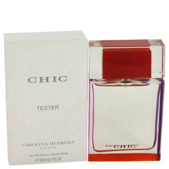 Chic by Carolina Herrera Eau De Parfum Spray (Tester) 80 ml for kvinner
